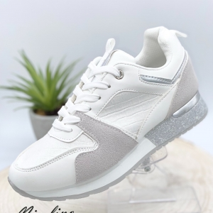 Baskets Janny blanches